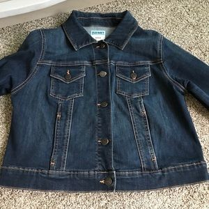 🎉HP🎉Old navy NWOT maternity dark denim jacket
